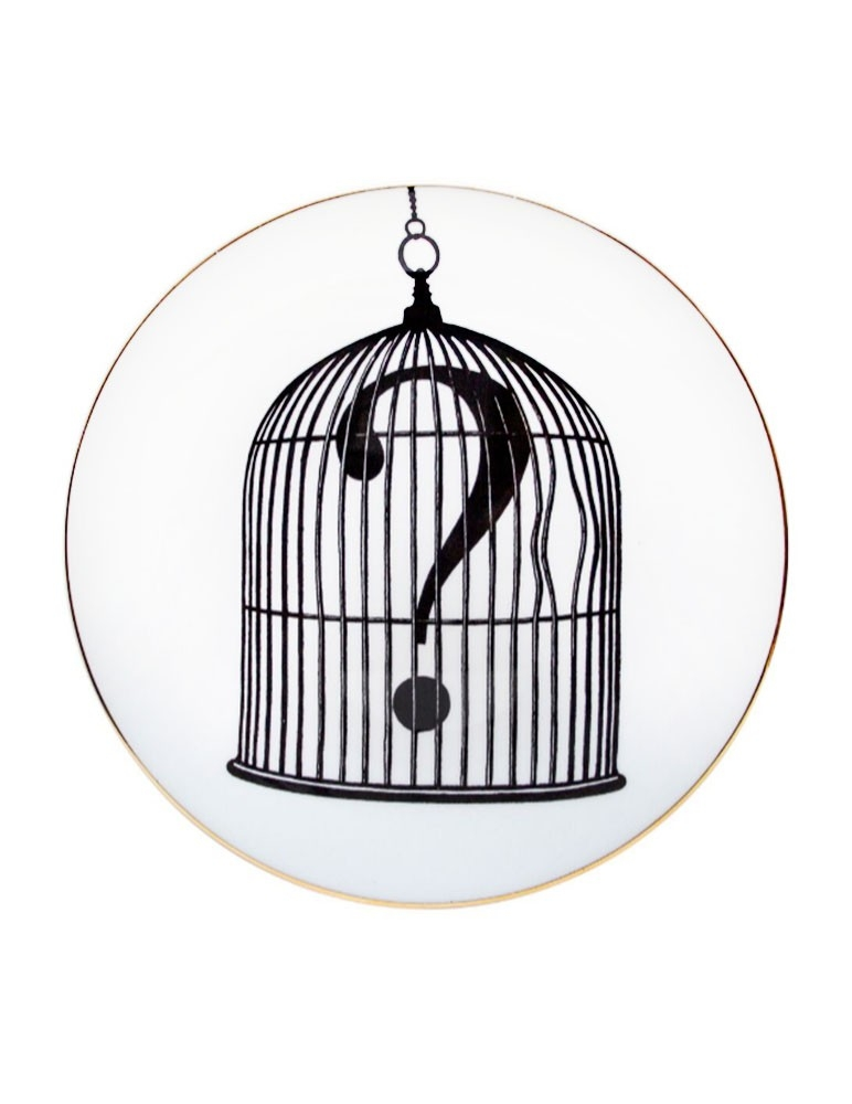 "Plato ""Question Mark Birdcage"""