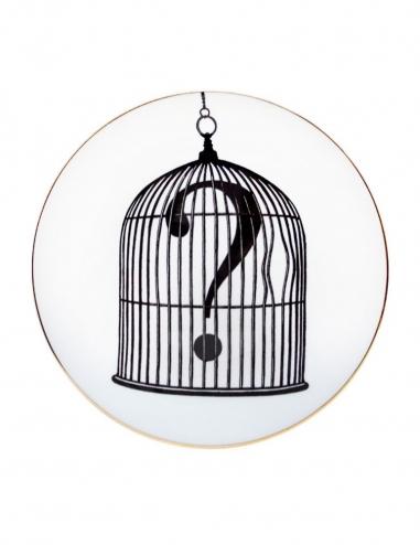 "Plato ""Question Mark Birdcage"""
