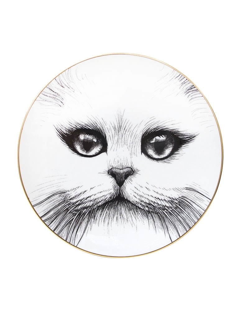 Cat No Monocle Plate