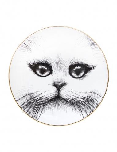 Cat No Monocle Plate