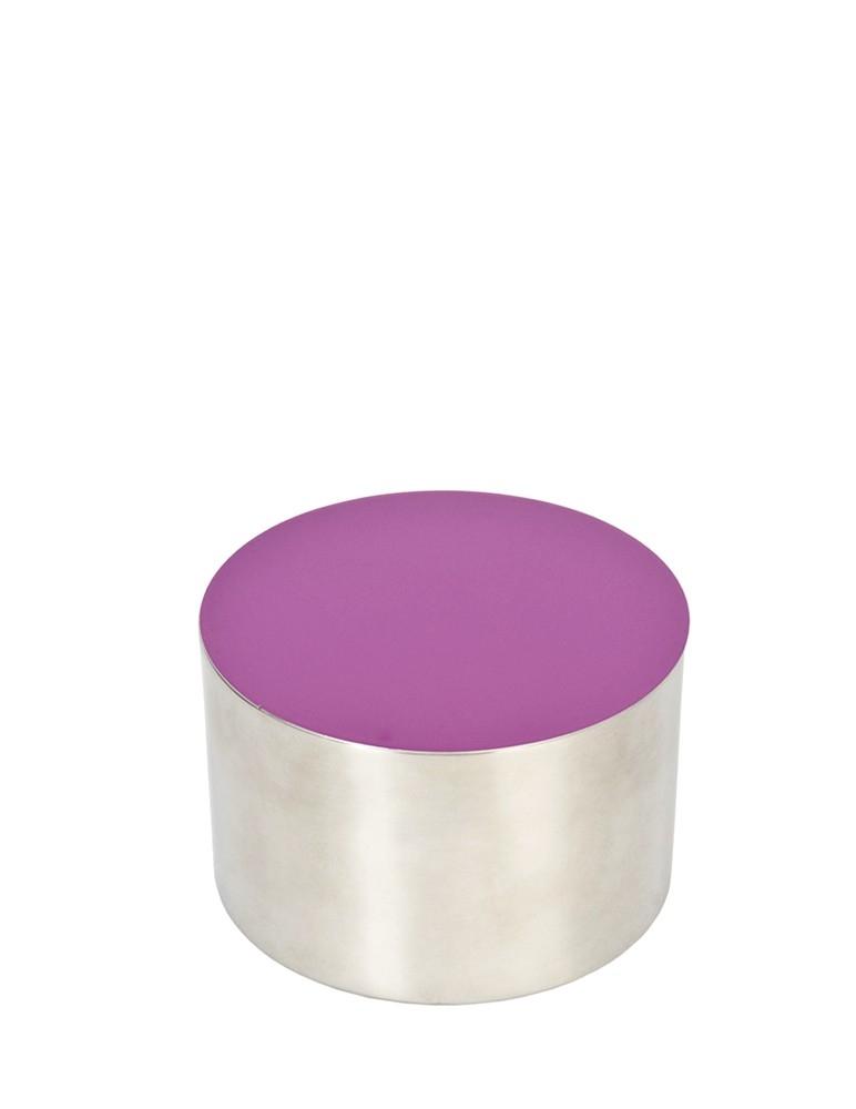"""Dot"" Purple Medium Bowl"