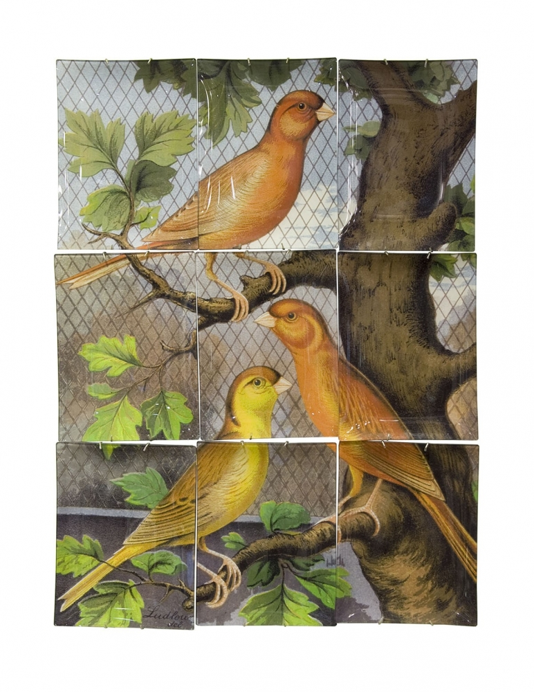 """Birds"" Wall Hanging"