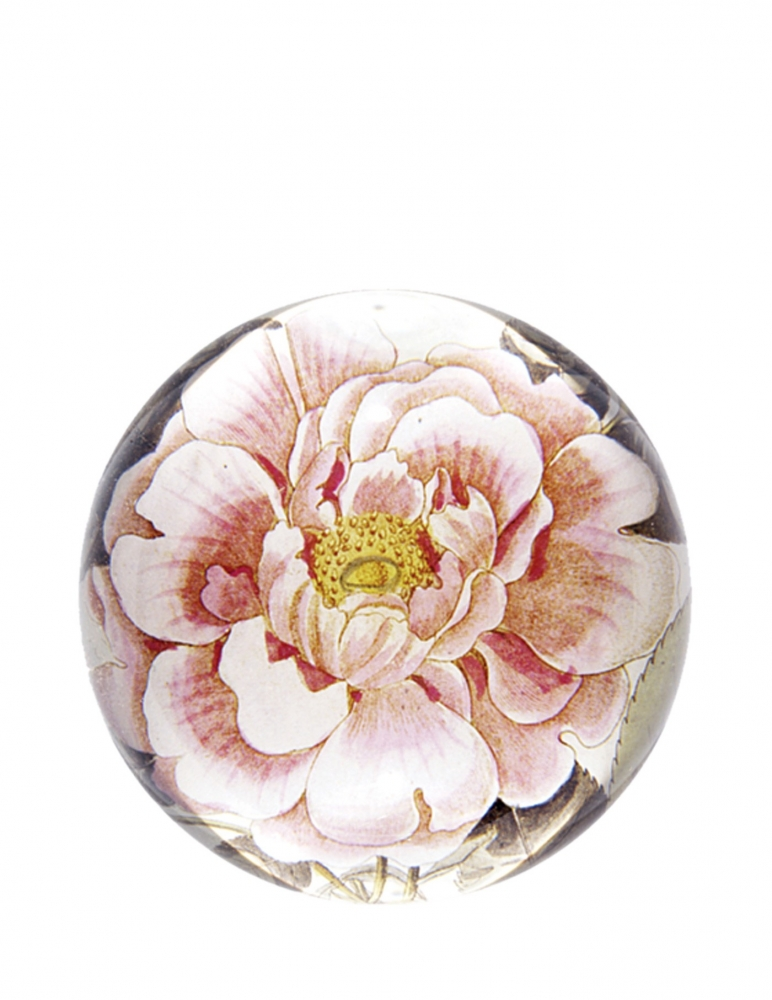 """Rose"" Dome Paperweight"