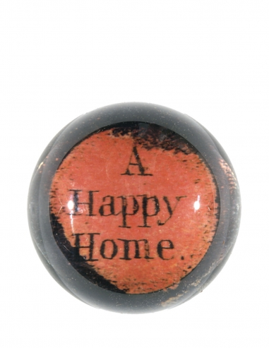 """""""A Happy Home"""" Dome Paperweight"""