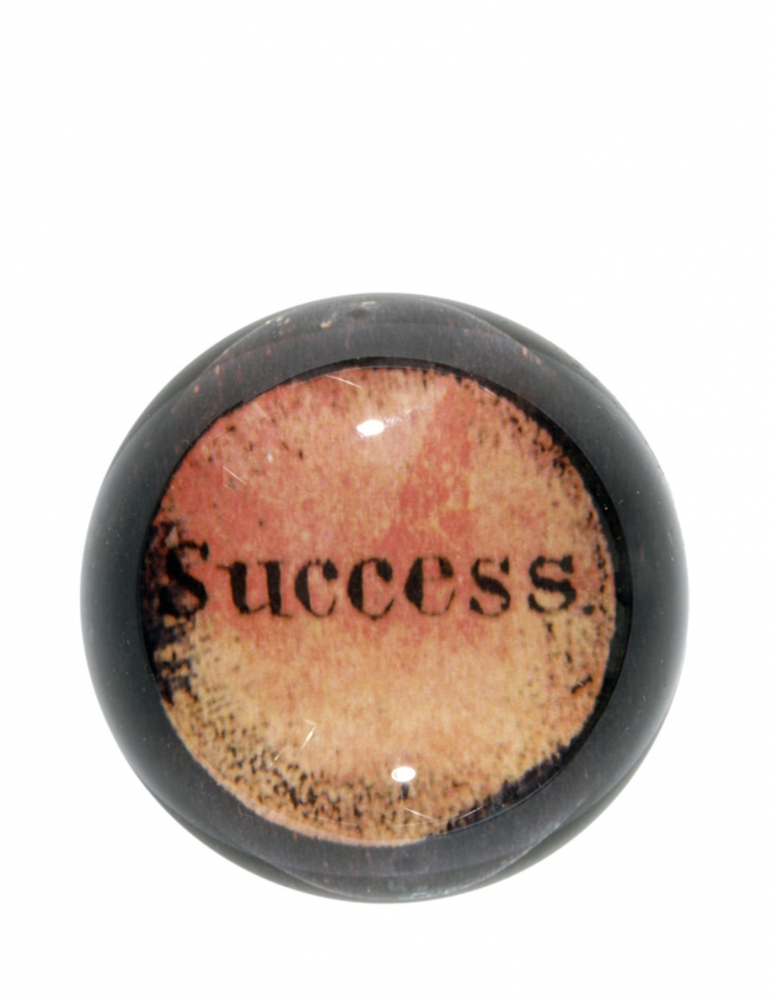"""Success"" Dome Paperweight"