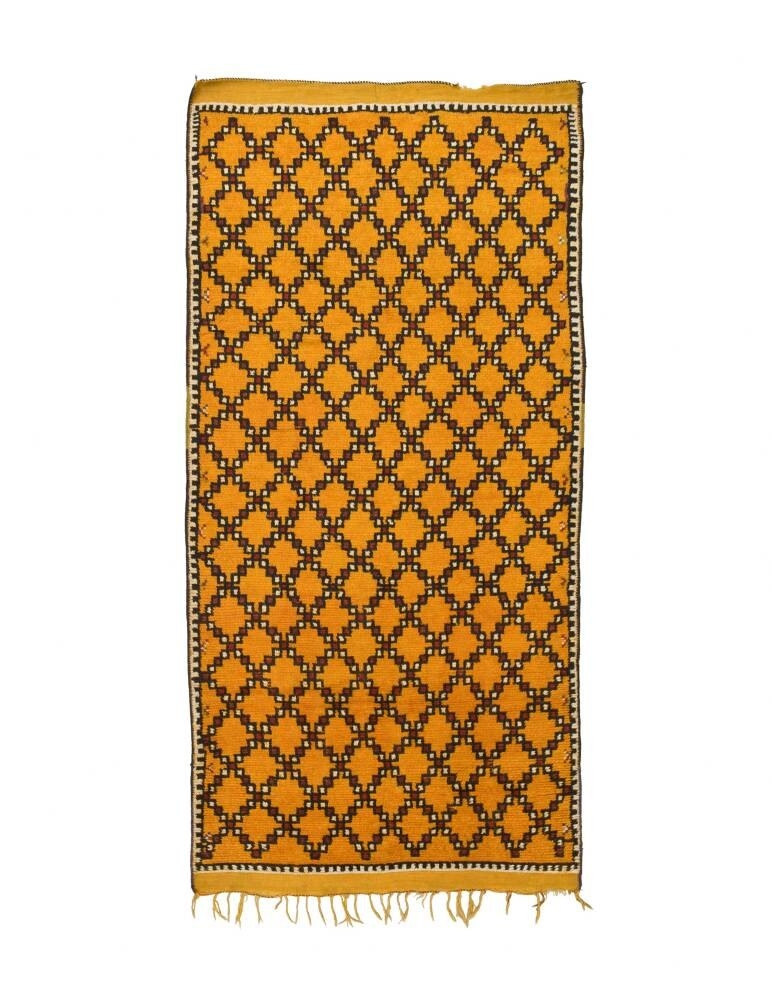 """Saffron"" Berber Rug"