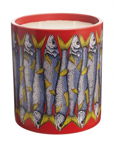 """Sardine Rosso"" - Large scented candle"