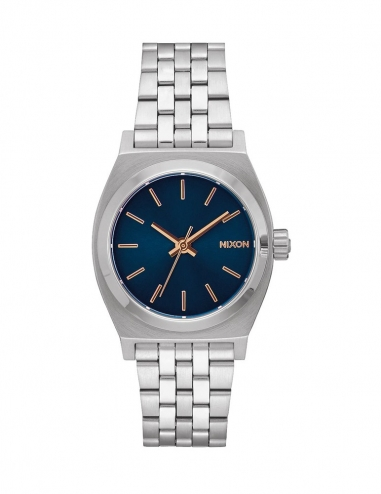 Medium Time Teller 31 mm Navy/Rose Gold