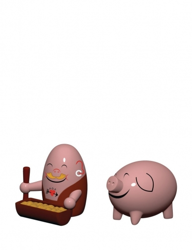 """Peter & Palla"" Figurines"