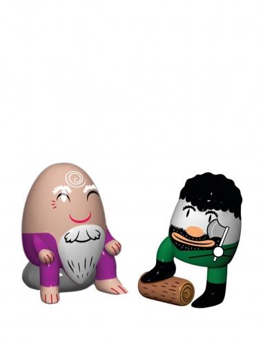"Figuritas ""Barbaccino & Woody"""
