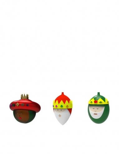 """Bolas de Navidad """"Gaspare, Melchiorre..."""