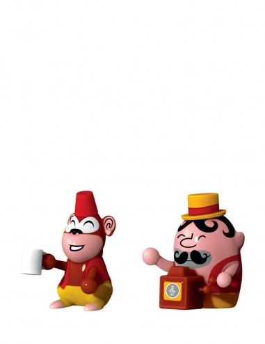 """Jimmy Melody & Monkey Money"" Figurines"
