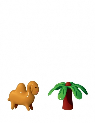 """Dario Dromedario & Palmita"" Figurines"