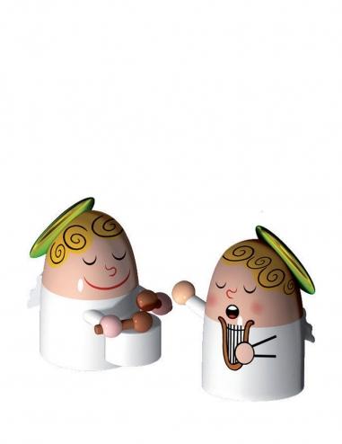 """Angels Band III"" Figurines"