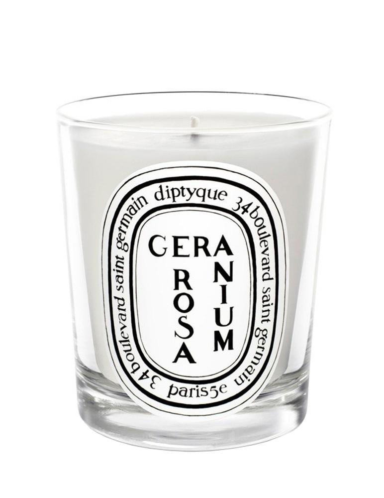 Geranium Rosa - Scented Candle