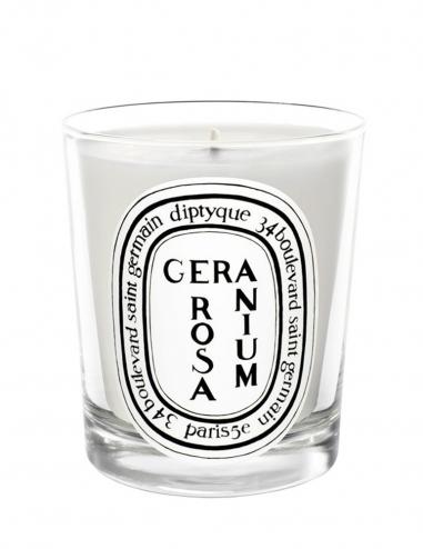 Geranium Rosa - Vela Perfumada