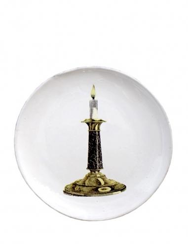 """""""Candlestick"""" Dinner Plate"""