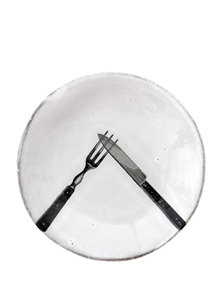 "Plato ""Cuchillo y Tenedor"""