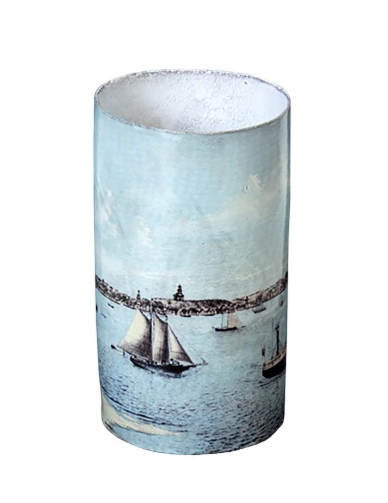 """""""Provincetown Port"""" Vase"""