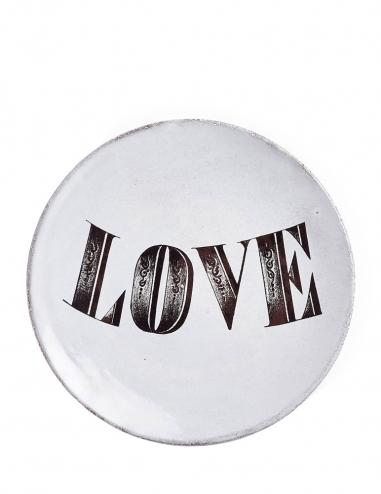 """Love"" Plate"