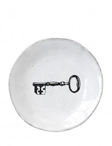 """""""Key"""" Dinner Plate"""