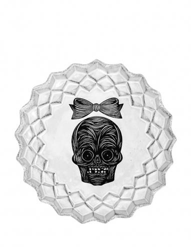 """""""Female Skull"""" Plate"""