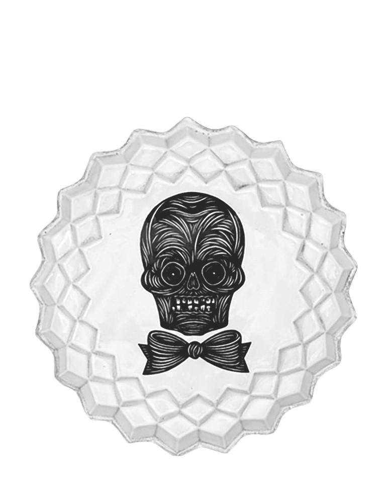 """""""Male Skull"""" Plate"""
