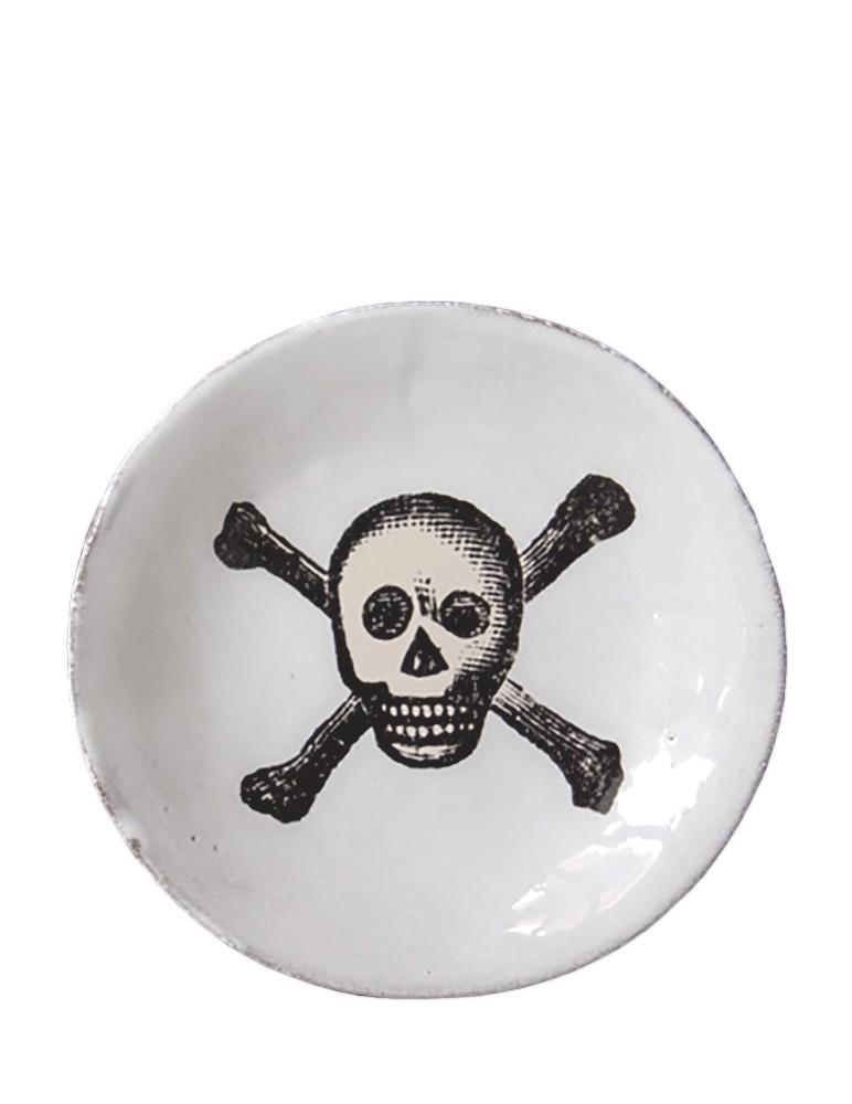 """""""Skull & Crossbones"""" Plate"""