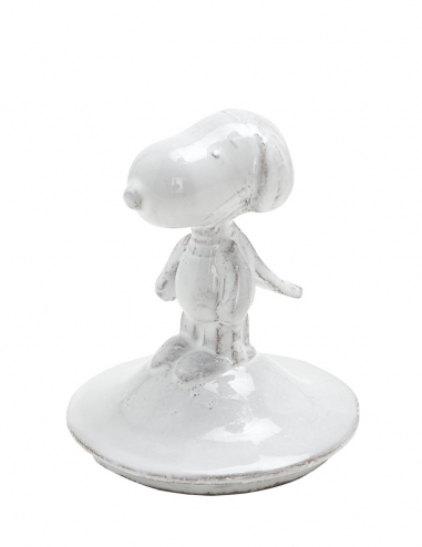 Snoopy - Glass Candle Lid