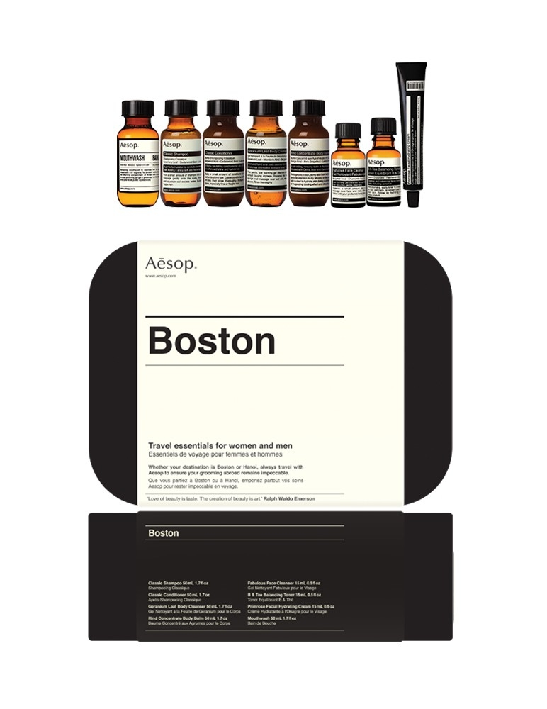 """Boston"" Travel Set"