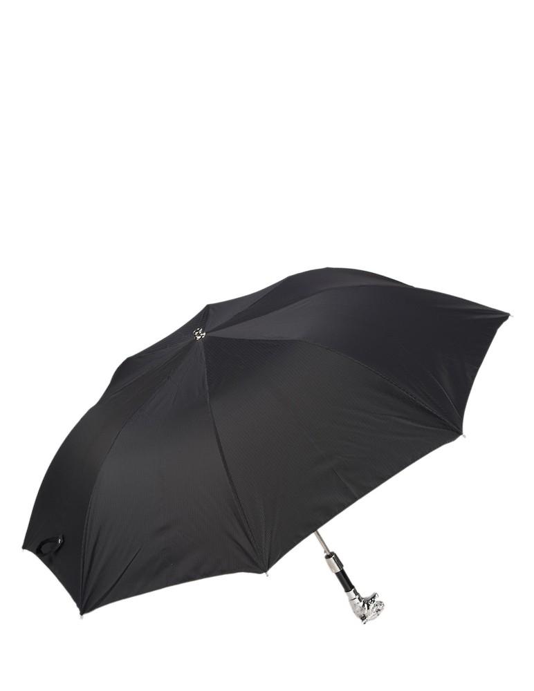Paraguas Plegable Tigre Plata