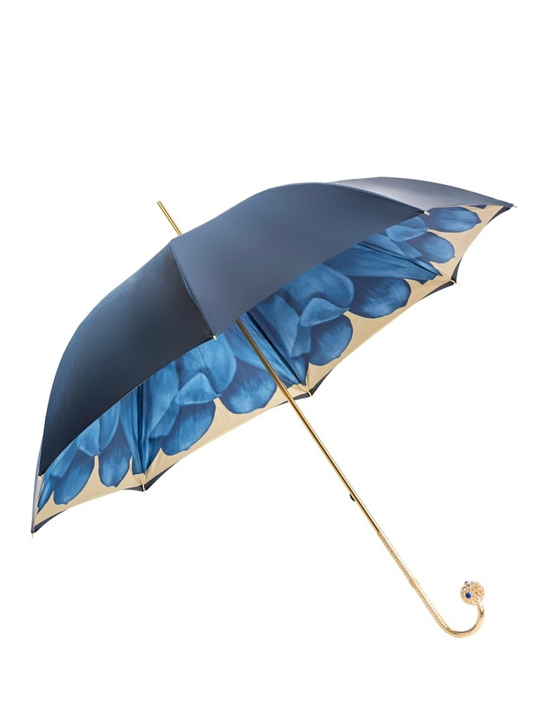 Blue Dahlia Umbrella