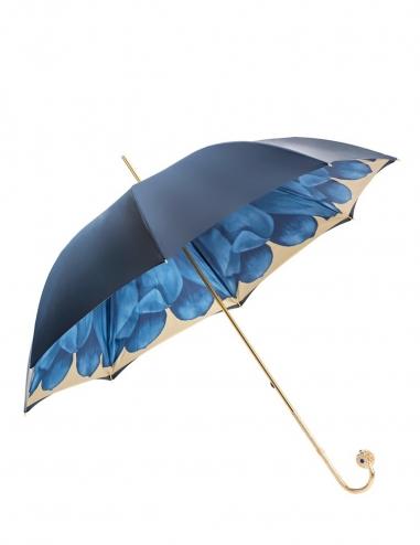 Blue Dahlia Umbrella