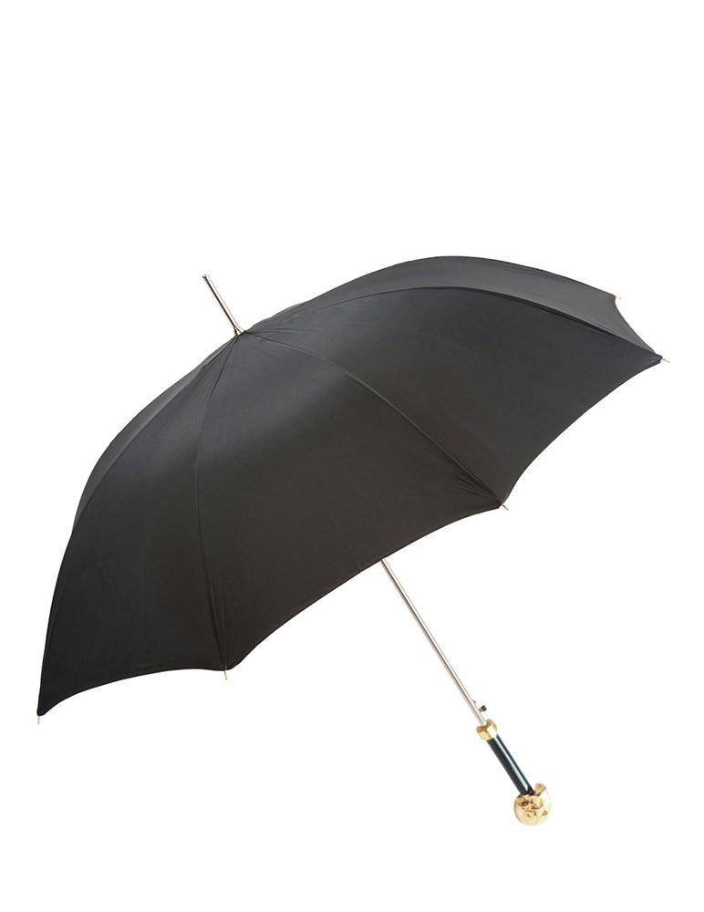 Gold Skull Umbrella