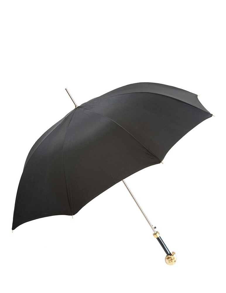 Paraguas Calavera Oro