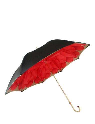 Red Dahlia Umbrella