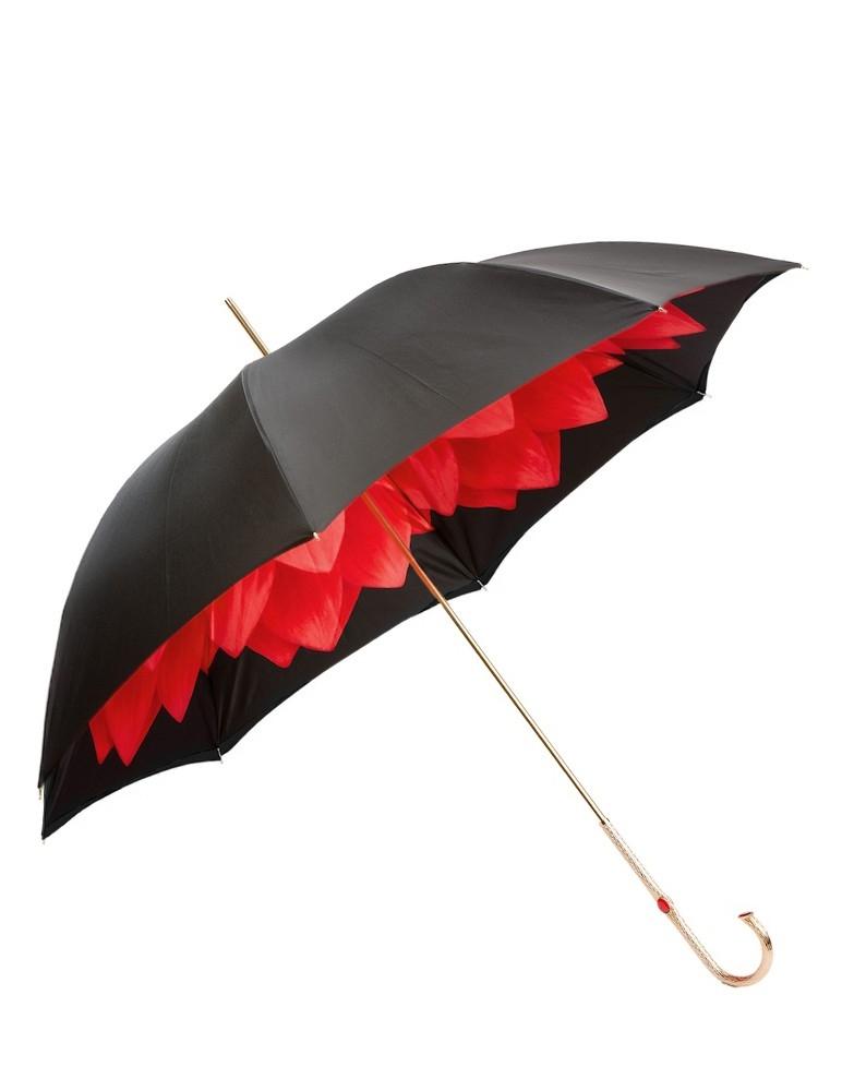 Red Dahlia Umbrella