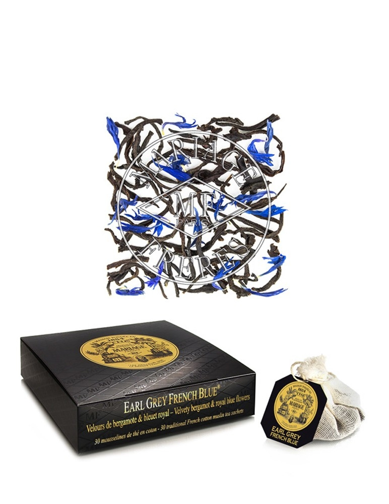 Earl Grey French Blue - Té Negro
