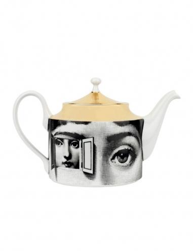 'Tema e Variazioni' Teapot - Gold