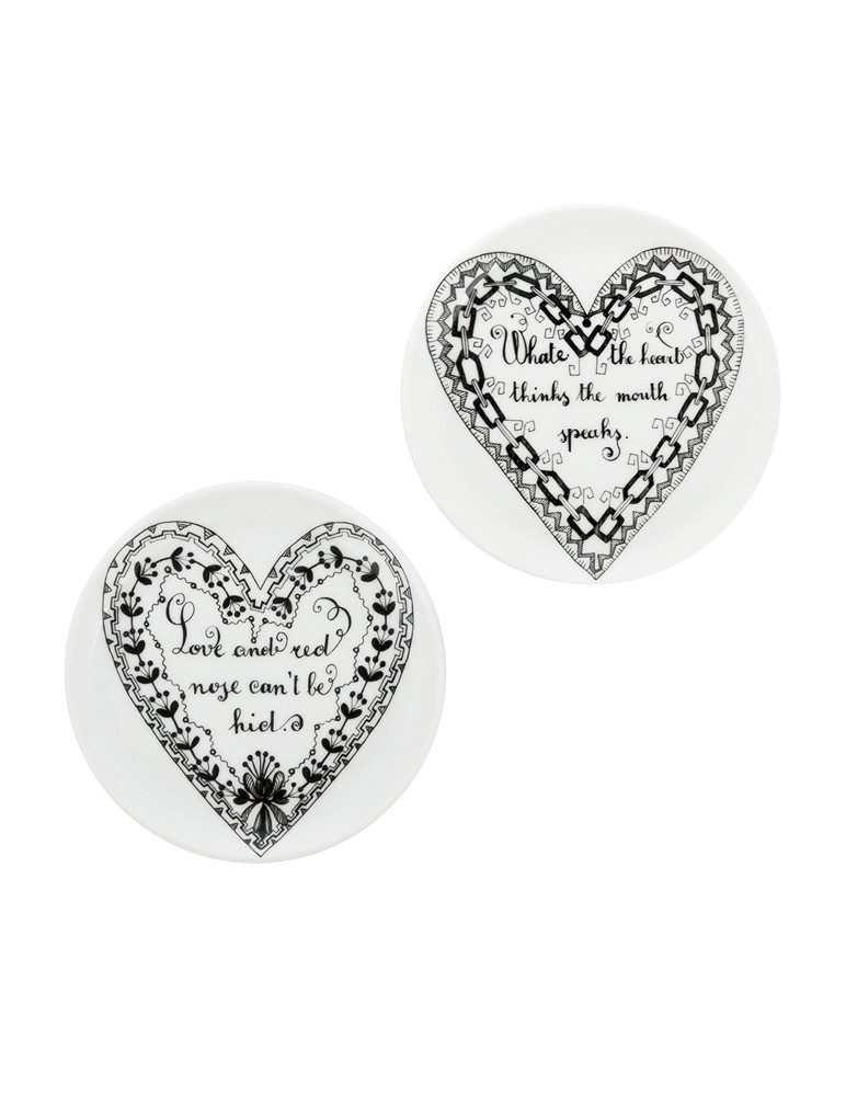 'Love' Coasters - Set of 2