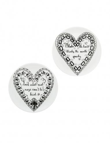 'Love' Coasters - Set of 2