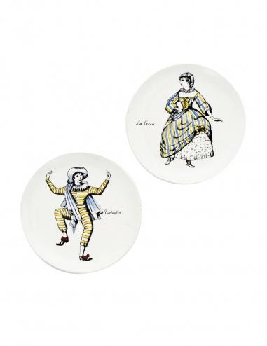 'Maschere' Coasters III - Set of 2