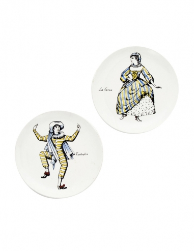 'Maschere' Coasters - Set of 2