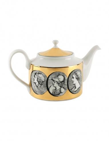 'Cammei' Teapot - Gold