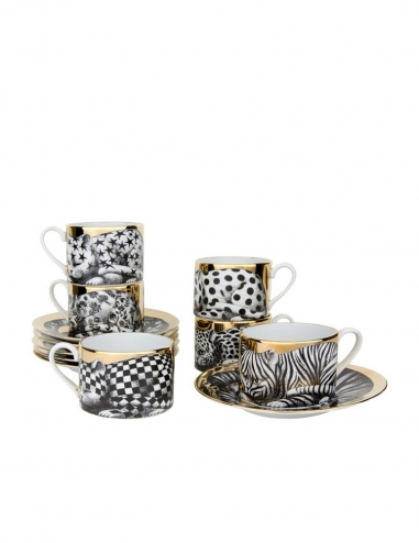 'High Fidelity' Set 6 Teacup