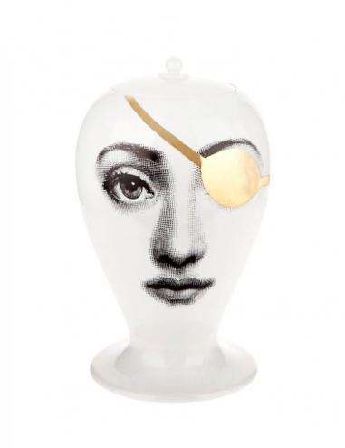 'Pirata' Vase - Gold