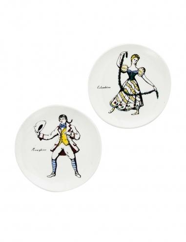 'Maschere' Coasters II - Set of 2