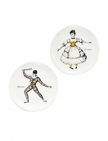 'Maschere' Coasters I - Set of 2