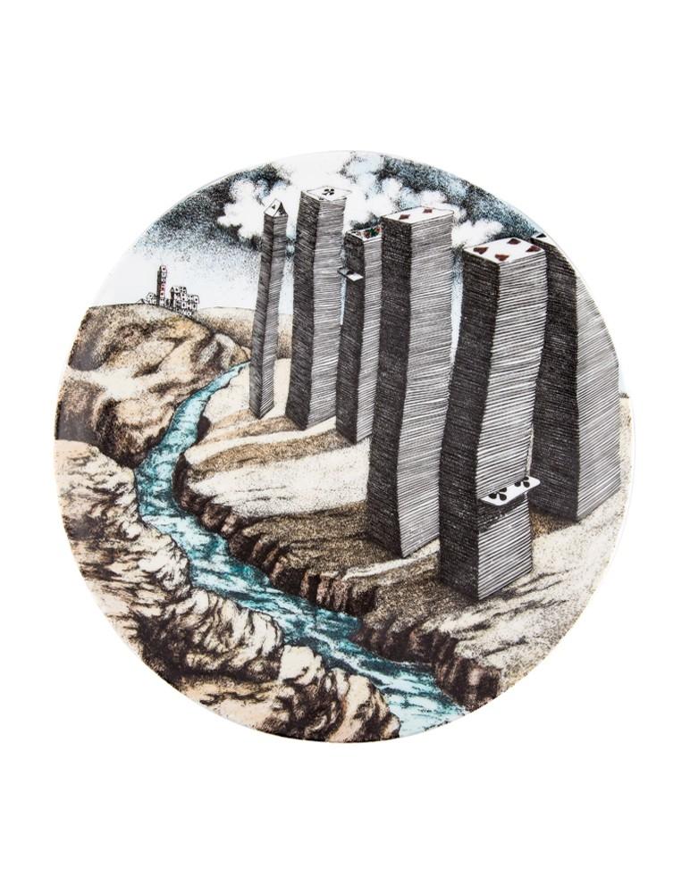 'Città di Carte' Wall Plate
