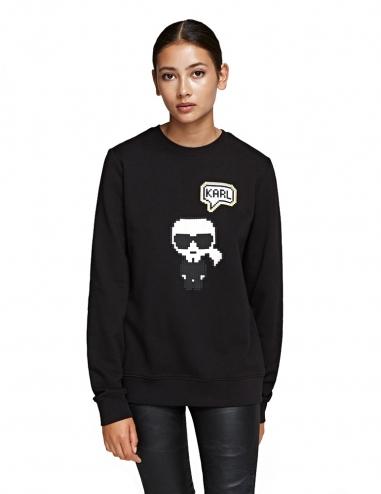 Karl pixel sweatshirt